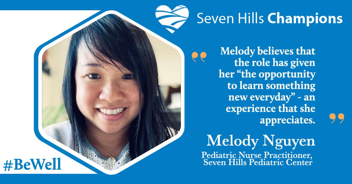 Meet Melody Nguyen, Staff Champion