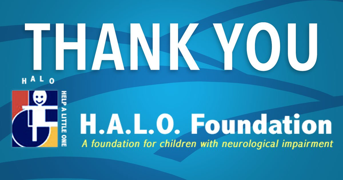 Seven Hills Pediatric Center Receives Grant from H.A.L.O. Foundation