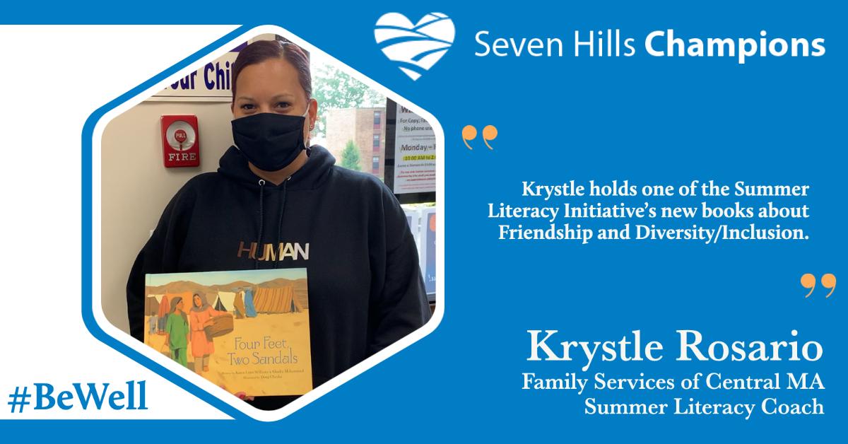 Meet Krystle Rosario, Literacy Coach