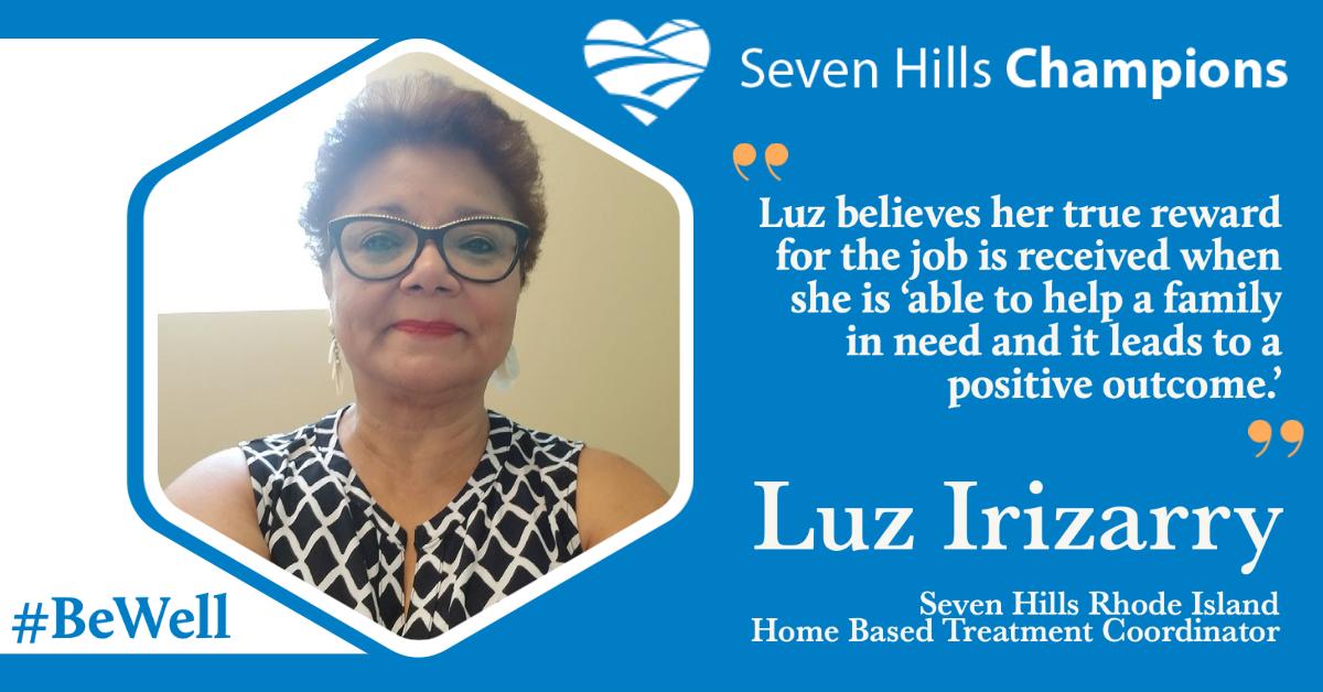Meet our next team member - Luz Irizarry