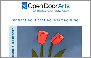 Open Door Arts: Connecting. Creating. Reimagining.