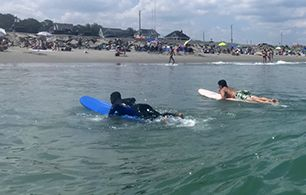 Stetson Youth Learn on Wheels and Waves with The Chill Program