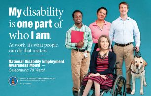 """""""My disability is one part of who I am."""""""