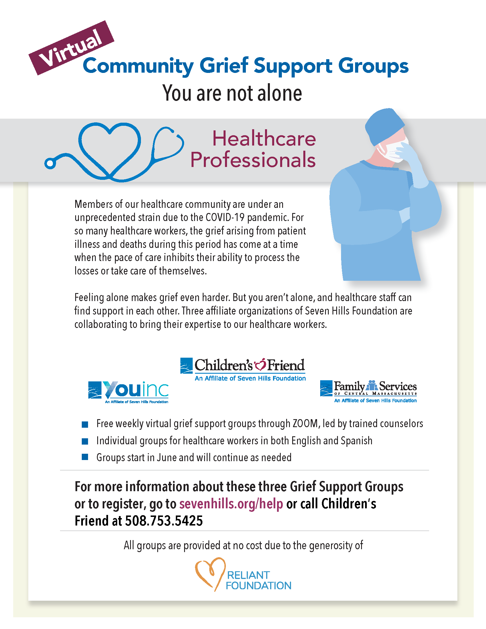 Grief Support Healthcare Workers