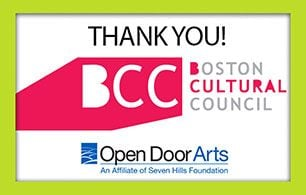 Boston Cultural Council Awards Grant to Open Door Arts, Supports Inclusion Program