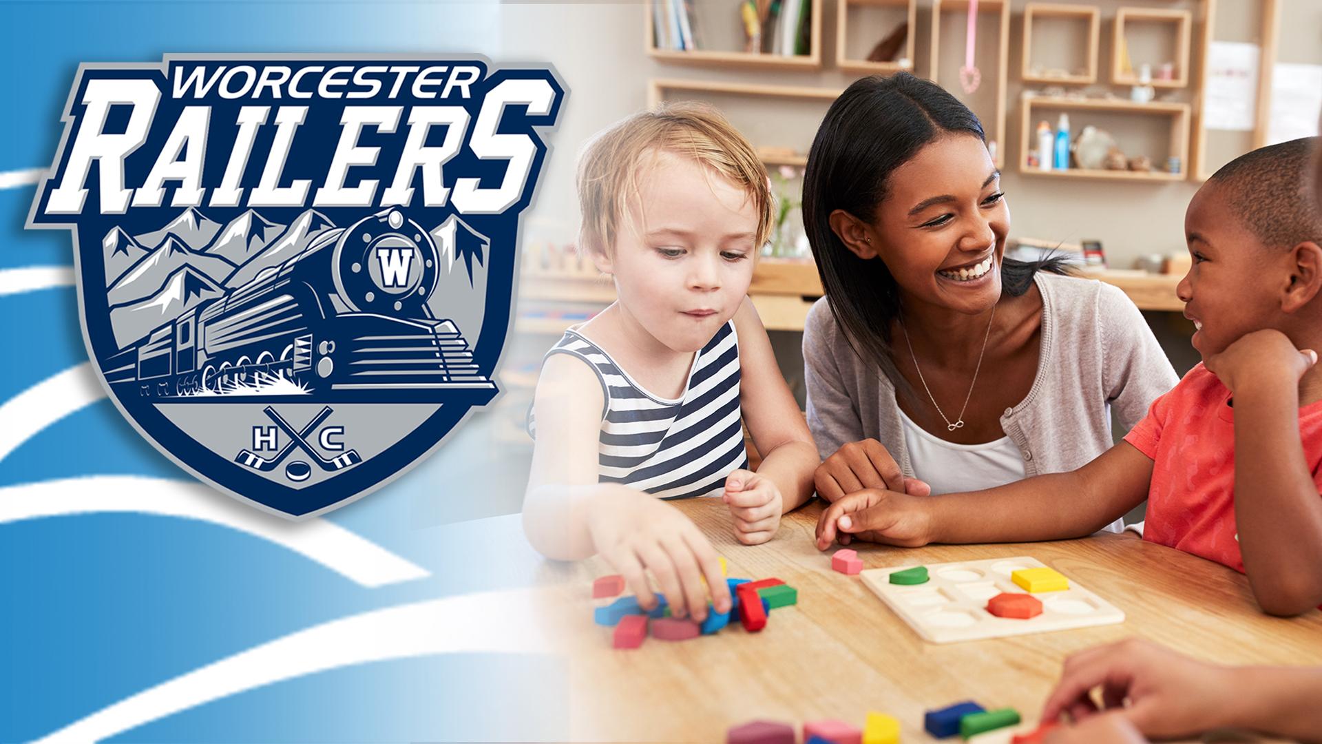 Worcester Railers HC, Great Community Partners